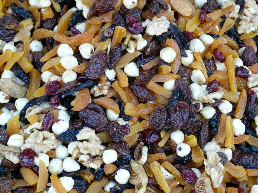 Homemade trail mix is a great gift to send to your soldier.